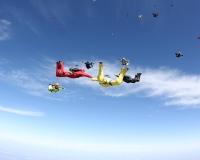 Национальный Рекорд Украины по парашютной групповой акробатике